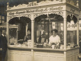 Tobacconist's Stall in a Co-Operative Market Photographic Print