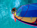 Windsurfing, Aruba, Caribbean Photographic Print by James Kay
