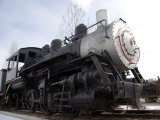 An Old Steam Engine Sits on a Siding Photographic Print by Taylor S. Kennedy