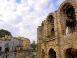 Roman Amphitheatre and Shops, Arles, Provence, France Photographic Print by Lisa S. Engelbrecht
