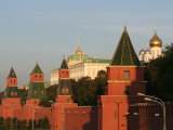 Exterior of Kremlin Towers and Great Kremlin Palace, Moscow, Russia Photographic Print by Jonathan Smith