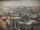 An Aerial View of Big Bend National Park in Texas Photographic Print by Gordon Gahan