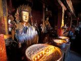 Vassi Koutsaftis - Jokhang, Lhasa, Tibet Fotografická reprodukce