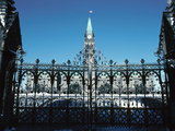 Majestic Gates of Parliament in Ottawa, Ontario, Canada Photographic Print