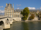 Pont Royal and the Louvre Museum, Paris, France Photographic Print by Lisa S. Engelbrecht