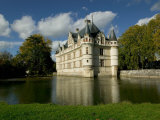 Chateau of Azay-le-Rideau, Loire Valley, France Photographic Print by David Barnes