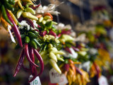 Chili Peppers in Pike Place Market, Seattle, WA Photographic Print by Walter Bibikow