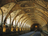 View of the Antiquarium in the Residenz Palace in Munich Photographic Print by Taylor S. Kennedy