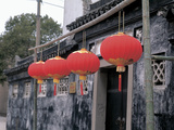 Traditional Chinese Lanterns Photographic Print