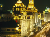 The Bund, the Old Colonial Waterfront Area of Shanghai Photographic Print by  xPacifica