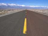 Highway 136 Heading Toward Lone Pine, CA Photographic Print by Frank Pedrick