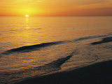 The Sun Sinks into the Gulf of Mexico Photographic Print by Klaus Nigge