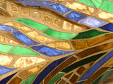 Close-up of Stained Glass Art Photographic Print
