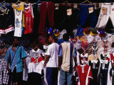 Clothing Stall, Santo Domingo, Dominican Republic Photographic Print by Alfredo Maiquez