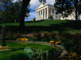 Virginia State Capitol Building and Gardens, Richmond, USA Photographic Print by Rick Gerharter