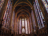 Sainte Chapelle Paris France Photographic Print