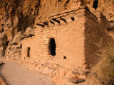 Talus House,Bandelier National Monument, New Mexico, USA Photographic Print by Richard Cummins