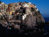 "Views of Cliff-Top Village from Via Dell"" Amore, Manarola, Italy Photographic Print by Jeffrey Becom"