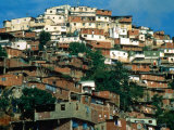 Shanty Houses on the Outskirts of Town, Caracas, Venezuela Photographic Print by Krzysztof Dydynski