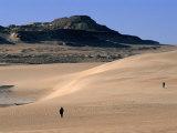Western Desert Between Siwa and Bahariya, Siwa, Egypt Photographic Print by John Elk III