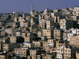 The City of Amman from the Citadel,Amman, Jordan Photographic Print by John Elk III