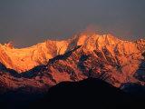 Annapurna Range, Nepal Stampa fotografica di Carol Polich