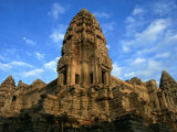 Tower in Central Structure of Angkor Wat Angkor, Siem Reap, Cambodia Photographic Print by Glenn Beanland