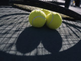 Two Tennis Balls Photographic Print
