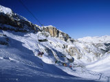 Ski, Cortina, Dolomiti Photographic Print by Angelo Cavalli