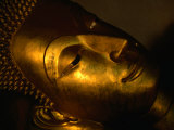 Detail of Buddha Statue, Nakhon Pathom, Thailand Photographic Print by Johnson Dennis