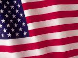 Amerikanische Flagge Fotodruck von Robert Cattan