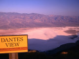 Dantes View and Death Valley, Death Valley, California, USA Photographic Print by Stephen Saks