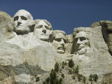 South Dakotas Famed Mount Rushmore National Monument Lmina fotogrfica por Wolcott Henry