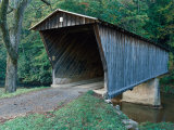 Bob White's Bridge, Patrick County, VA Photographie par Robert Finken