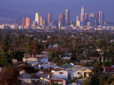 Skyline, Los Angeles, CA Photographic Print by John Connell