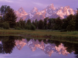 Mountains and Lake, Grand Teton National Park, WY Photographic Print by Russell Burden