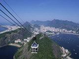 Sugar Loaf Mountain, Rio de Janeiro, Brazil Impressão fotográfica
