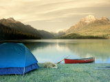 Bowman Lake, Glacier National Park Photographic Print by Amy And Chuck Wiley/wales