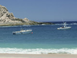 People Fishing in Bay, Cabo San Lucas, Mexico Photographic Print by David Harrison