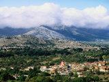 Overhead of Village, Lassithi Province, Agios Georgios, Greece Photographic Print by John Elk III