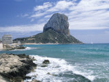 Penon De Ifach, Spain Photographic Print by Jim Schwabel