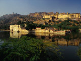 Amber Fort-Palace Near Jaipur, Amber, Rajasthan, India Photographic Print by Richard I'Anson