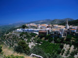 Hilltop Town Near Denia on the Costa Blanca or White Coast of Spain, Valencia, Spain Photographic Print by Johnson Dennis