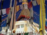 Bodhnath Stupa, Bodhnath, Bagmati, Nepal Photographic Print by Richard I'Anson