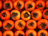 Persimmons from a Stall in the Central Market, Athens, Attica, Greece Photographic Print by Setchfield Neil