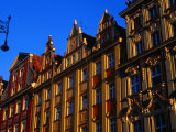 Building Facades in Old Town Square, Wroclaw, Poland Photographic Print by Krzysztof Dydynski
