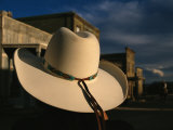 A White Cowboy Hat Accentuates This Western Movie Location Impressão fotográfica por Stephen St. John