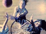 Women's Basketball Photographic Print