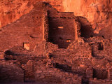 Pueblo Bonito at Sunset, Chaco Culture National Historical Park, USA Photographic Print by John Elk III