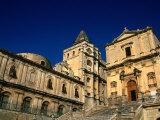San Francesco on Piazza Xxx Ottobre, Noto, Sicily, Italy Photographic Print by Diana Mayfield
